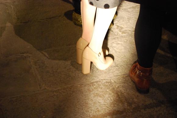 Shoes & polka dots
